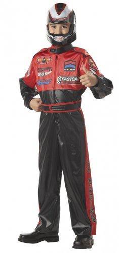 SMALL- CHILD NASCAR Car Racing Champion Dress up Halloween Costume