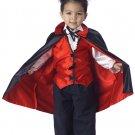 Vampire Toddler Dracula Costume Size: Large #00008