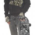 Skater Bone Head Tween Child Costume Size: X-Large