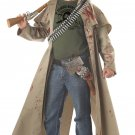 Zombie Hunter Walking Dead Adult  Costume Size: X-Large #00933