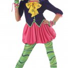 Alice In Wonderland The Mad Hatter Tween Child Costume Size: Large #04016