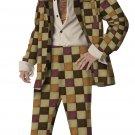 Pimp Daddy Disco Sleazeball Adult Costume  Size: Large #00919