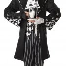 Alice In Wonderland Dark Mad Hatter Adult Costume Size: Medium #01101