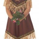 Pocahontas Native American Indian Princess Toddler Costume Size: Large #00086