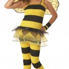 Wasp Bumble Bee Little Honey Bumble Bee Child Costume Size: Large #00257