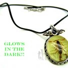 Real Scorpion Necklace that Glows in Dark - Valentine Gift