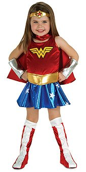 SMALL - Wonder Woman Justice League Children Costume