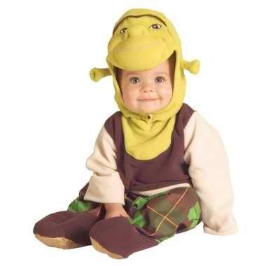 6-12 MONTHS - Shrek Baby Infant Disney Pixar Costume