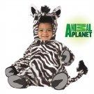 Safari Jungle Zebra Baby Costume Size: Medium #10005