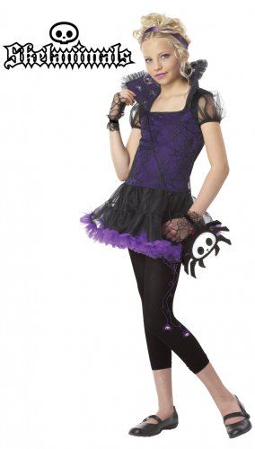 Skelanimals, Timmy The Spider Child Costume Size: Small #00293
