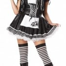 Gothic Raggedy Ann Dreadfull Doll Adult Costume Size: Large #01163