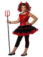 Sassy Devil Child Costume Size: Large
