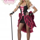 Sexy Parisian Showgirl Burlesque Adult Costume Size: Large #01140