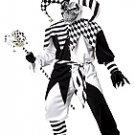 Evil Jester Clown Nobody's Fool Adult Costume Size: Medium #01133