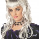 Moonlight Gothic Vampire Child Costume Wig #70347