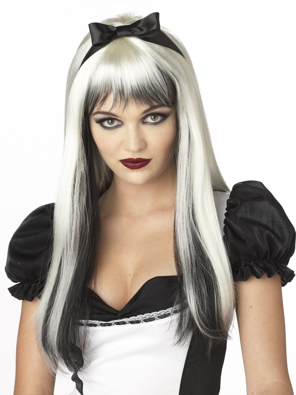 Gothic Enchanted Tresses Gothic Costume Wig #70061_White