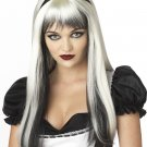 Gothic Enchanted Tresses Gothic Costume Wig #70061_White
