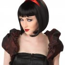Dark Gothic Twisted Fairytale Snow White Costume Wig #70024