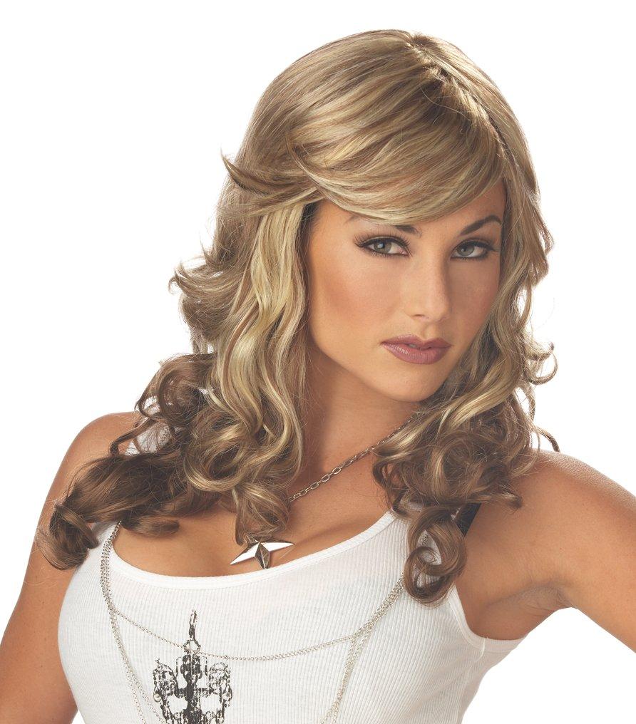 Rock Vixen Rock Star Adult Costume Wig