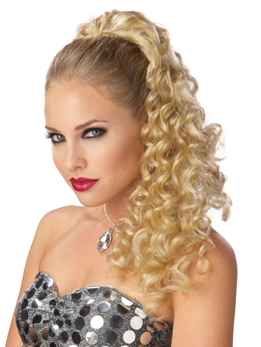 Glamorous Costume Wig - Blonde Ponytail Falls