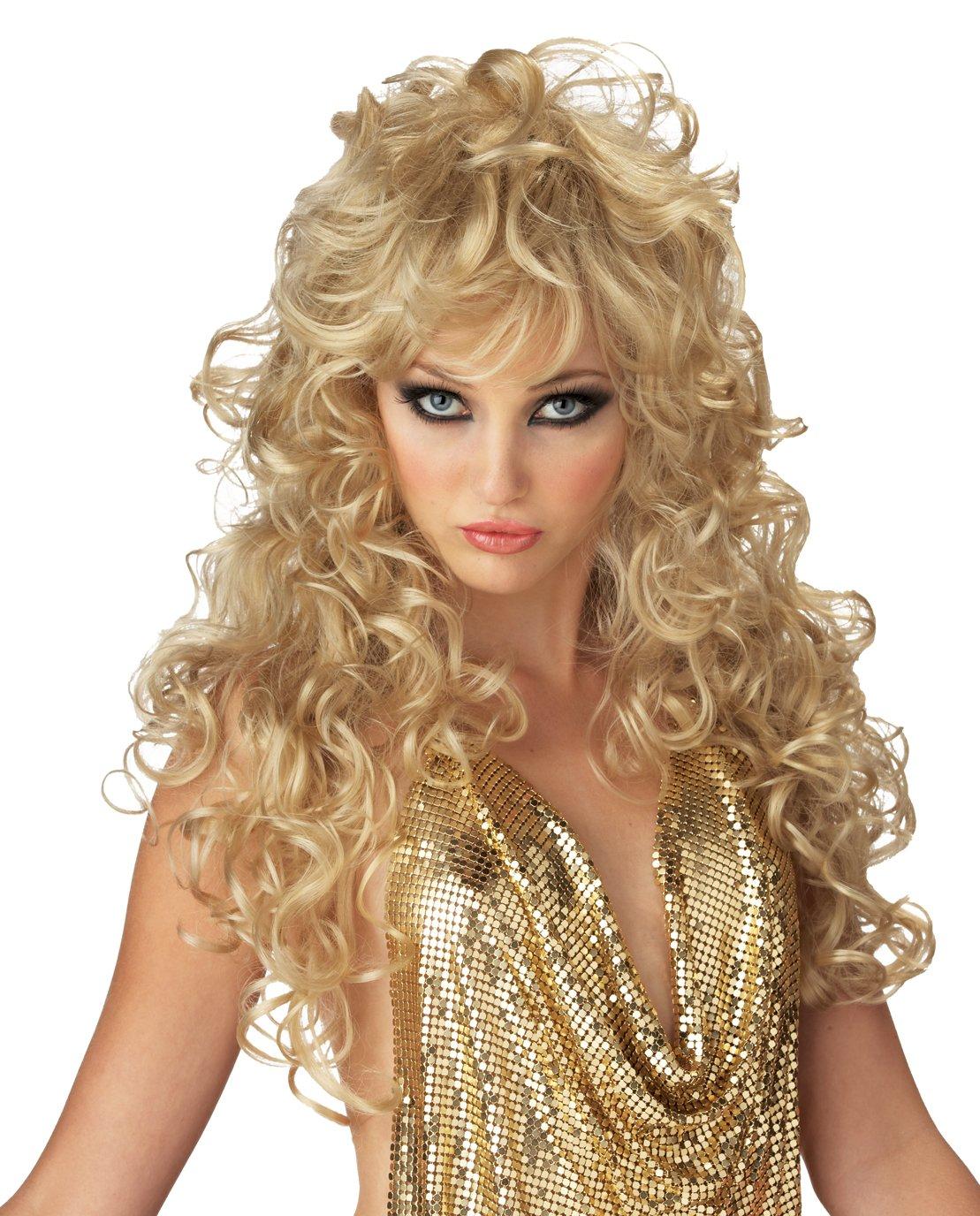 Sexy Seduction Girls Gone Wild Adult Costume Wig #70426