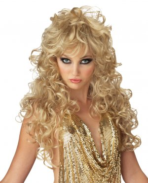 Sexy Seduction Girls Gone Wild Adult Costume Wig #70426