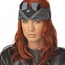 Punk Hollywood Rocker Star Axel Rose Adult Costume Wig #70596