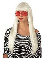 Pop Angel Lady Gaga Rock Star Adult Costume Wig #70577