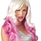 Sexy Vixen Fantasy Waves Mermaid Rock Star Adult Costume Wig #70639