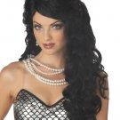 Ariel Mermaid Adult Black Costume Wig #70201