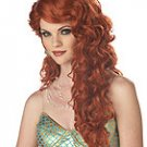 Ariel Mermaid Adult Auburn Costume Wig #70200