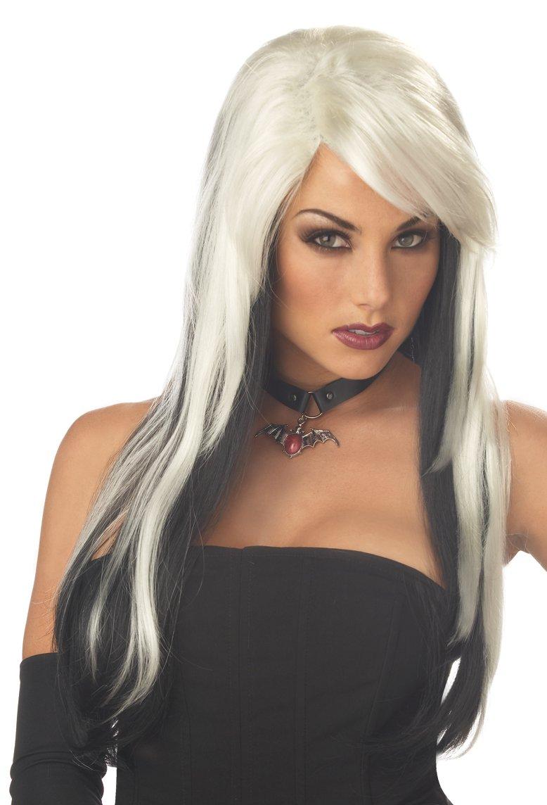 Gothic Vampire Vixen Adult Costume Wig