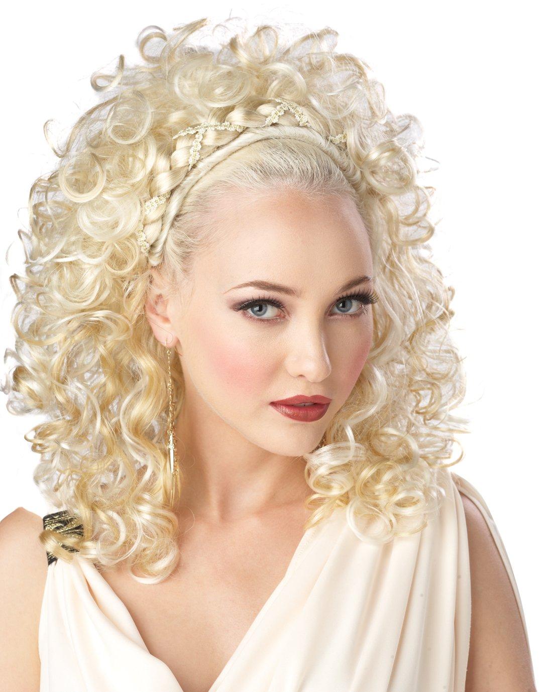 Greek Grecian Goddess Adult Costume Wig #70016