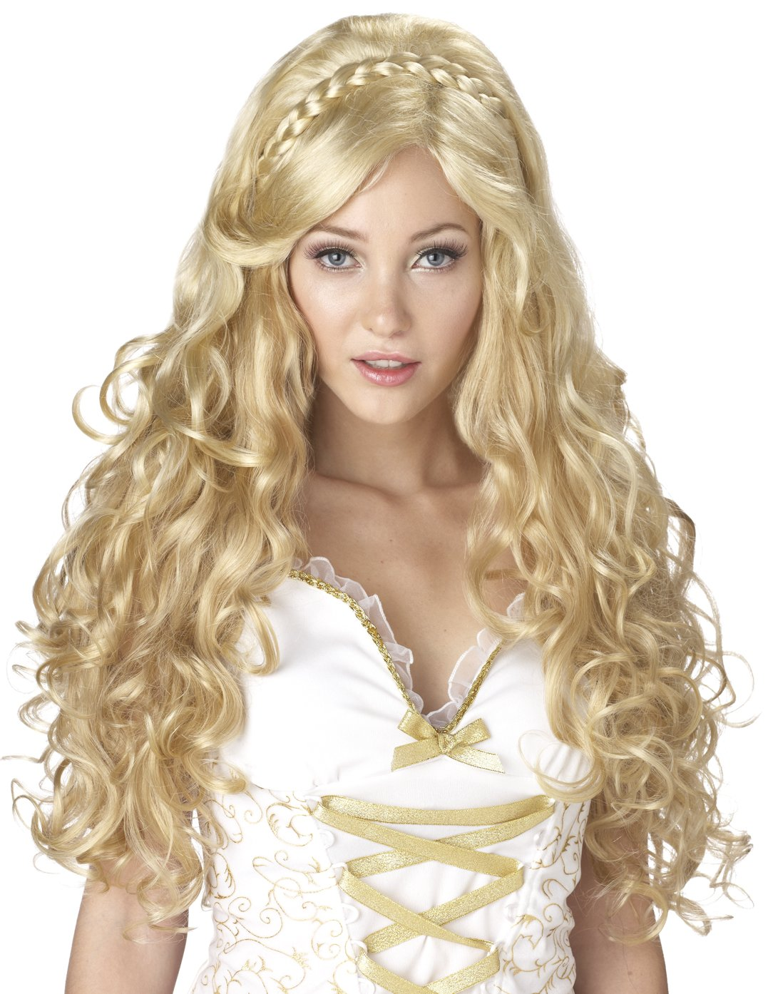 300 Roman Mythical Goddess Greek Adult  Costume Wig #70636