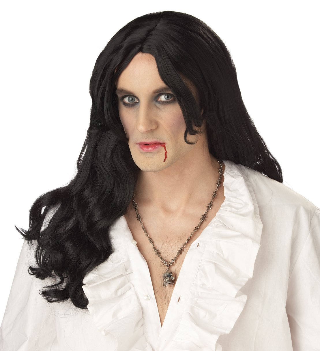 Dracula Old World Vampire Adult Costume Wig #70060
