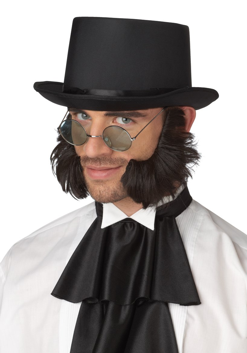 Psycho Mutton Chops Adult Costume Sideburns #70081