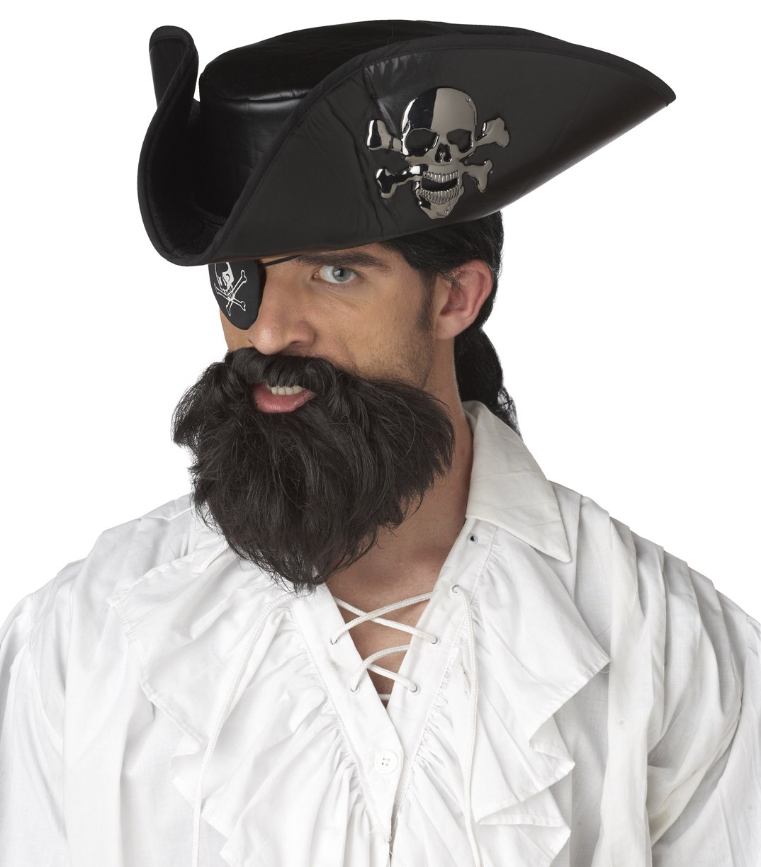 Pirate Captain Costume Beard and Moustaches #70011