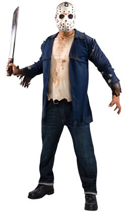 Jason Voorhees Deluxe Adult Costume Size: X-Large #889071