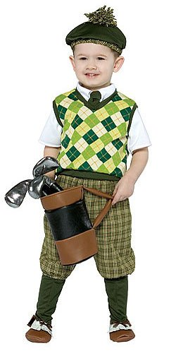 Toddler Future Golfer Sports Costume Size: 3T-4T #9558