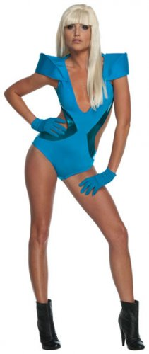 Lady Gaga Swimsuit Poker Face Costume Size: Small #889959