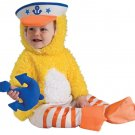 New Infant Duckie Sailor Costume Size 6-12 Months