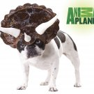 Triceratops Dinosaur Dog Costume Size:  Medium