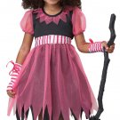 Pink Witch Toddler Costume Size: Large