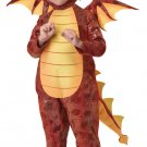 Fire Breathing Dragon Dinosaur Toddler  Costume Size: Medium #00105