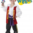 Wiggles Captain Feathersword Pirate Toddler Costume Size: Medium #00125