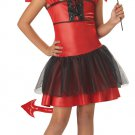 Devil Darling Child Costume Size:  Large Plus #00235