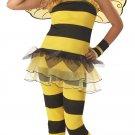 Hornet Bumble Bee Little Honey Child Costume Size:  Large Plus #00257