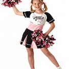 All Star Cheerleader Child Costume Size: Medium Plus #00270