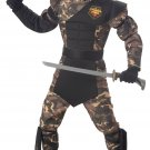 Special Ops Ninja Child Costume Size: Large Plus #00326
