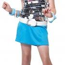 Rock Star Go Go Girl Child Costume Size: Medium #00331